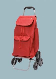 Treppensteiger Einkaufshilfe Caddie Shopping Cart Trolly Rot