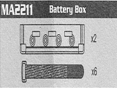 MA2211 Battery Box Raptor