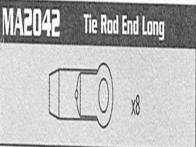 MA2042 Tie Rod end Long Raptor