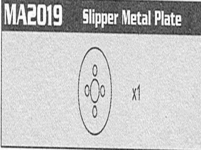 MA2019 Slipper Metal Plate Raptor