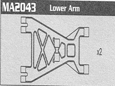 MA2043 Lower Arm Raptor