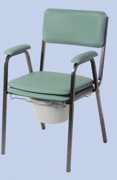 Club Standard Toilettenstuhl mit Deckel in zig Farben