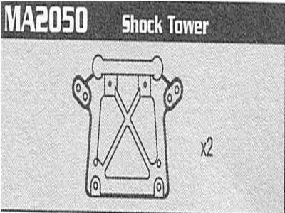 MA2050 Shock Tower Raptor