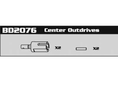 BD2076 Center Outdrives