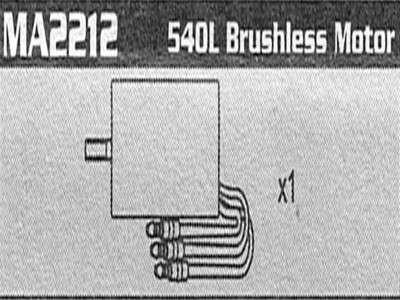 Brushless Motor 3670 2400KV