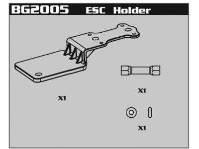 BG2005 ESC Holder
