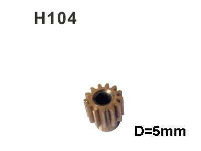 H104 Motorritzel 13Z D=5mm