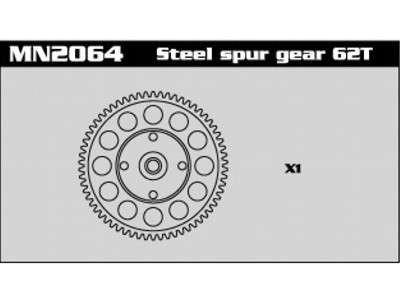 MN2064 Steel Super Gear 62T