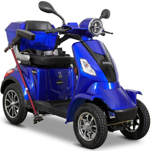 Elektroroller E-Quad 25 V.3 Lithium, Blau, 60V-20Ah Akku, 1000 Watt